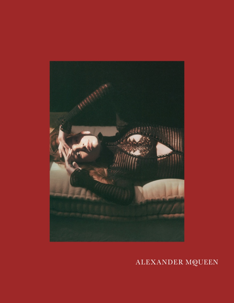 Alexander McQueen Enlists New Faces for Fall 2015 Campaign