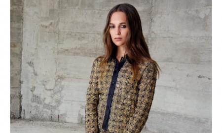 Alicia Vikander for Louis Vuitton fall-winter 2015 campaign