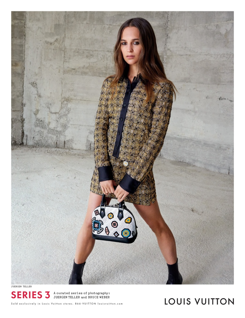 Louis Vuitton Launches Fall 2015 Ads Lensed by Bruce Weber + Juergen Teller