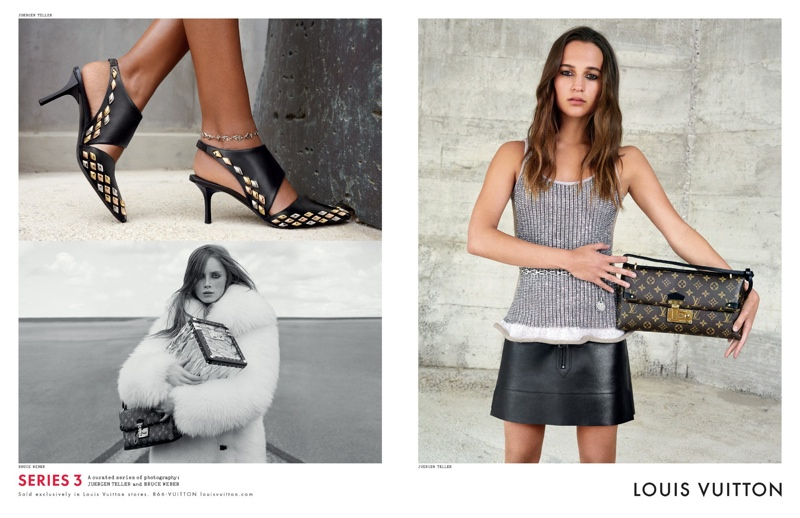 Alicia Vikander for Louis Vuitton fall-winter 2015 advertisement