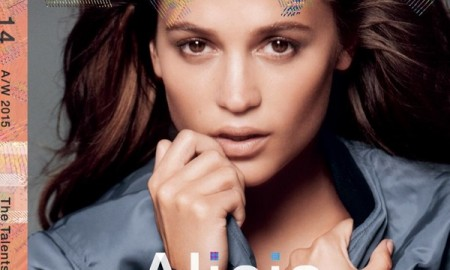 Alicia Vikander on LOVE Magazine cover