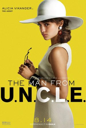 Alicia Vikander, Elizabeth Debicki Channel 60s Style for 'The Man from U.N.C.L.E.' Posters