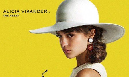 Alicia Vikander on The Man from U.N.C.L.E. movie poster