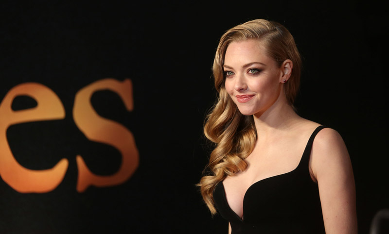BEFORE: Amanda Seyfried with long hair. Photo: Featureflash / Shutterstock.com