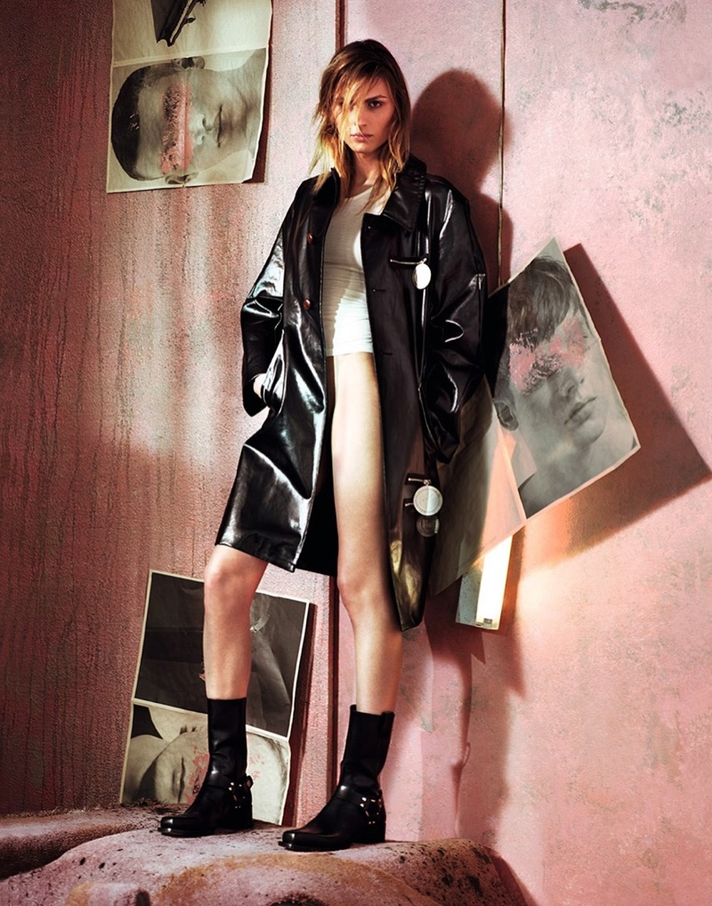 """Andreja Pejic Stars in Dazed Magazine, Says """"The World is Changing"""""""