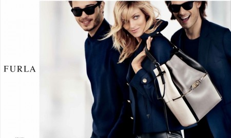 Anja Rubik for Furla fall-winter 2015 campaign