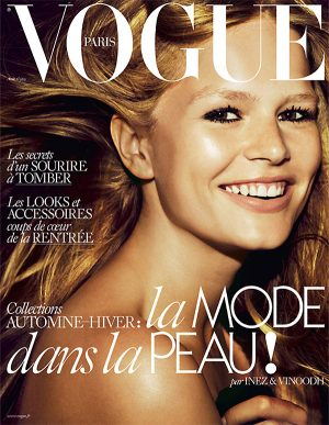 Anna Ewers is All Smiles for Vogue Paris August 2015 Cover