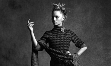 Anna Ewers in Chanel fall-winter 2015 campaign