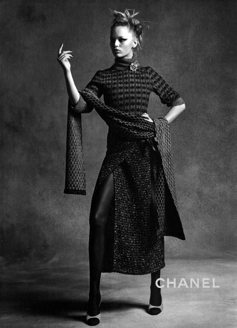 Anna Ewers + Lindsey Wixson Land Chanel's Fall 2015 Campaign