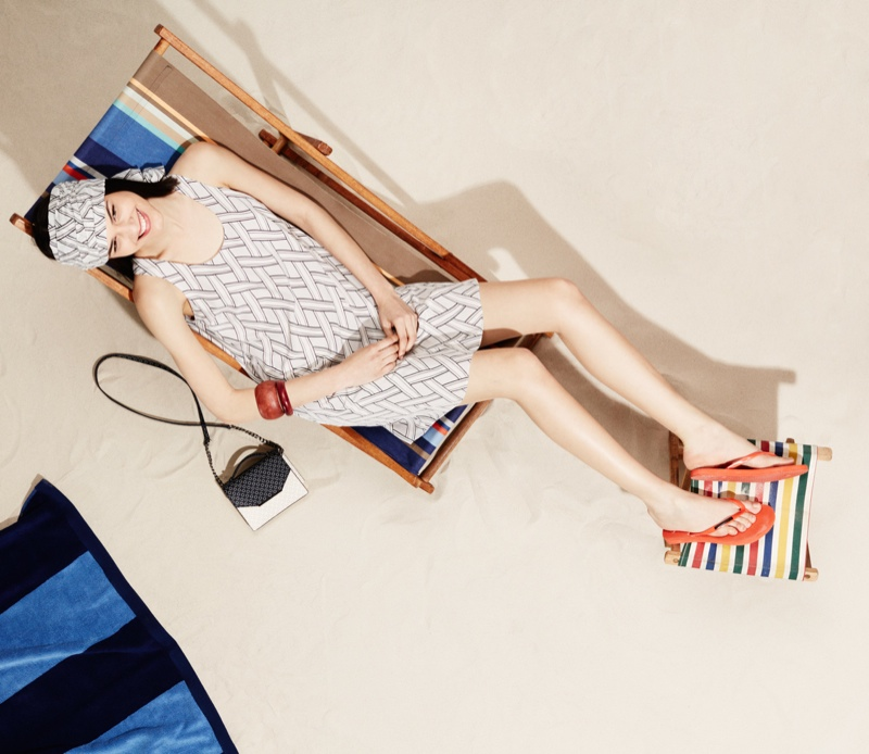 Armani Exchange Embraces Beach Fashion for July Lookbook