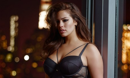 Ashley Graham models Addition Elle Collaboration