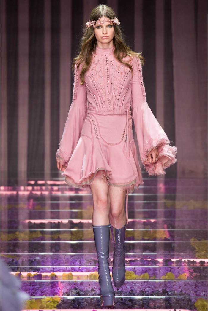 Atelier Versace Fall 2015: Fairy Couture
