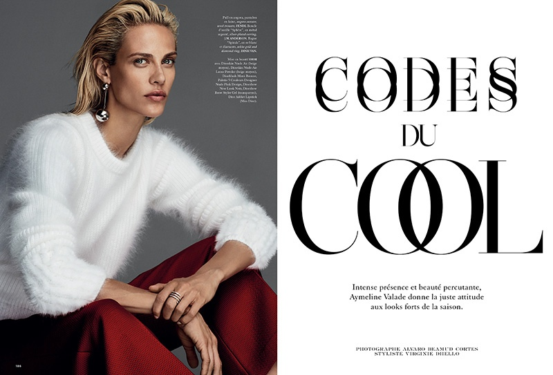 Aymeline Valade Has the Cool Factor for Madame Air France