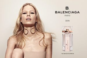 Anna Ewers Goes Bare for New Balenciaga Fragrace Campaign
