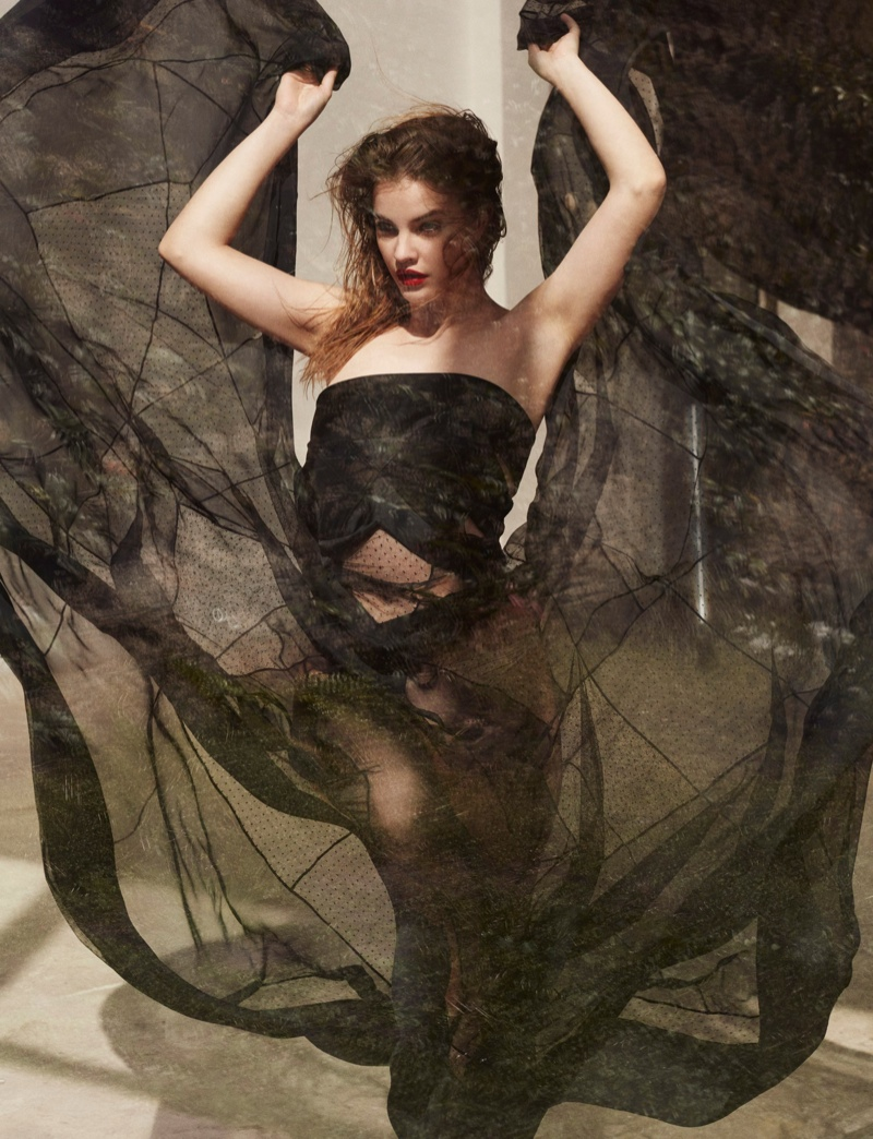 Barbara Palvin Delivers Understated Glamour for Editorial in L'Express Styles
