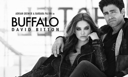 Barbara Palvin for Buffalo David Bitton fall 2015 campaign