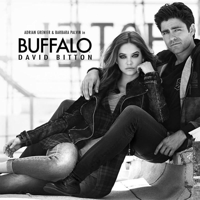 Barbara Palvin for Buffalo David Bitton fall 2015 campaign