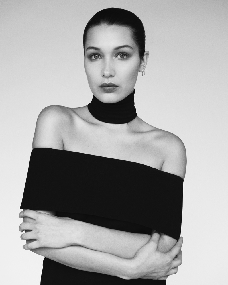 Bella Hadid At Ralph Lauren Runway Show At New York: Bella Hadid Models Monochrome Looks For Unconditional No