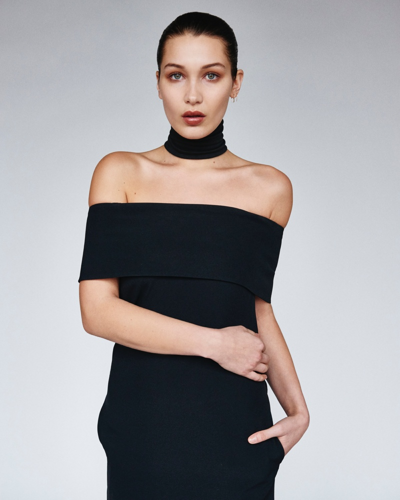 Bella Hadid Models Monochrome Looks For Unconditional No 1 Fashion Gone Rogue