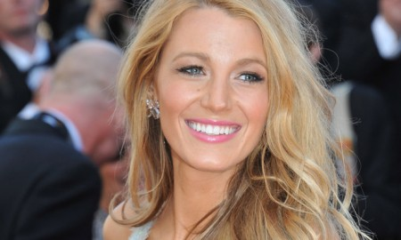 BEFORE: Blake Lively with blonde hair. Photo: Jaguar PS / Shutterstock.com