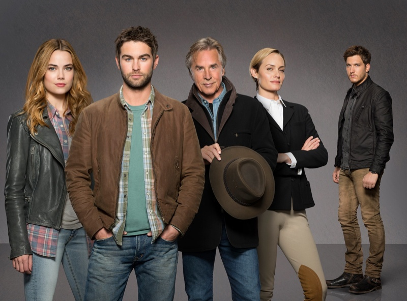 The cast of ABC's 'Blood and Oil'. Photo: ABC
