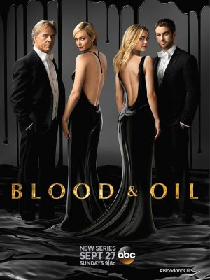 Amber Valletta Gets Dark for 'Blood and Oil' Promos