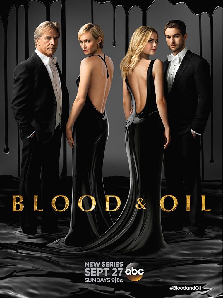 56432750311 Blood and Oil television poster. Photo  ABC