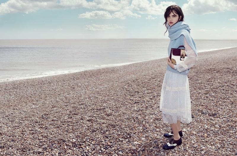 Misha Hart Heads to England for Blugirl Fall 2015 Ads