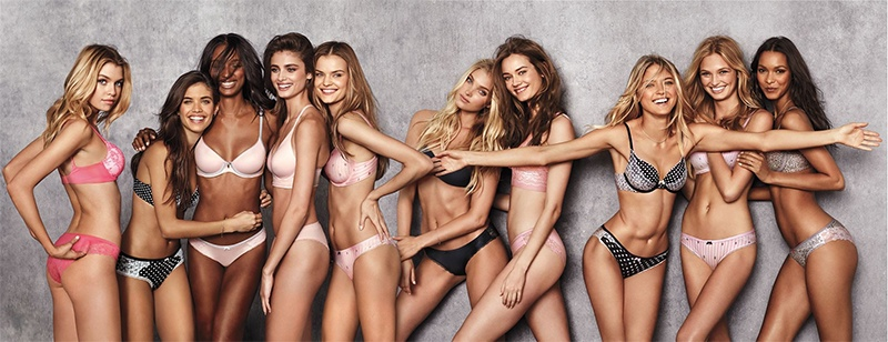 The New VS Angels Star in Body by Victoria Promos