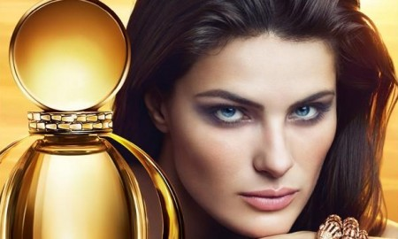 Isabeli Fontana for Bulgari Goldea fragrance advertising campaign