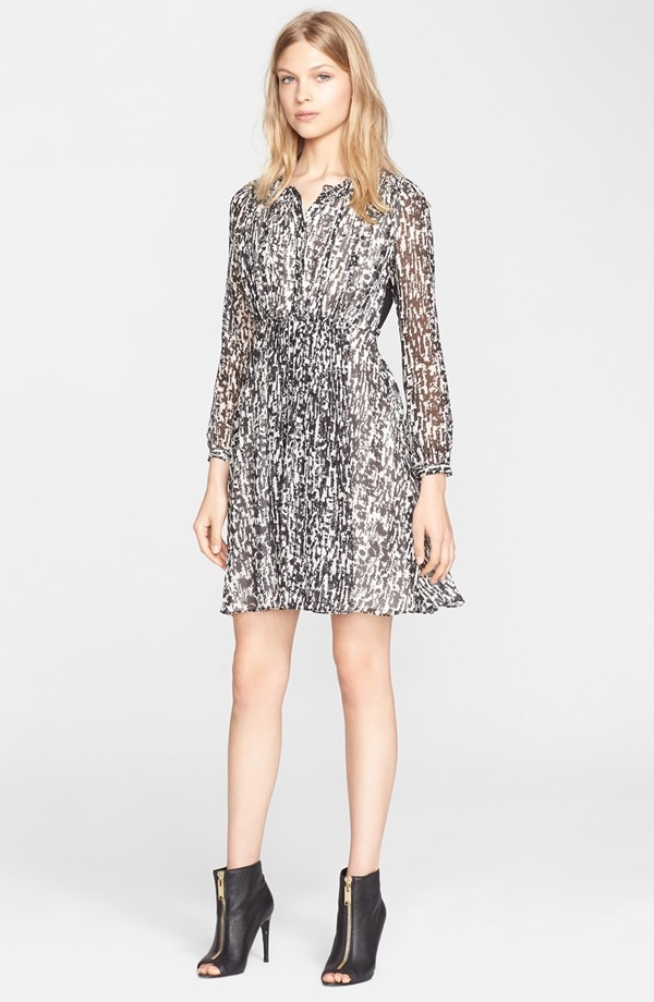 Burberry Brit Tabatha Print Silk Dress available for $529.90 at Nordstrom (was $795.00)