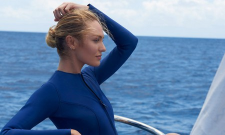 Candice Swanepoel for Biotherm