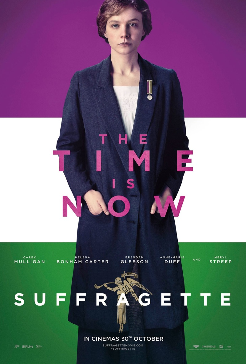 Carey Mullgian for Suffragette