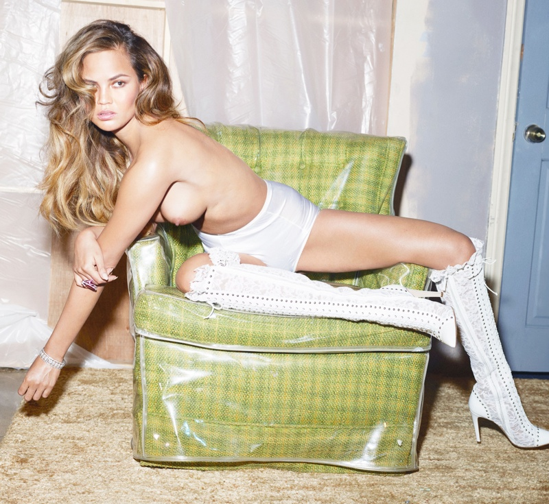 Rosie Huntington-Whiteley, Barbara Palvin + More Models Undress for Sexy W Editorial