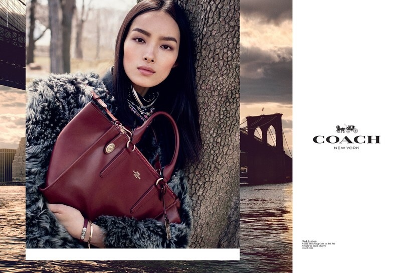 An image from Coach's fall-winter 2015 campaign