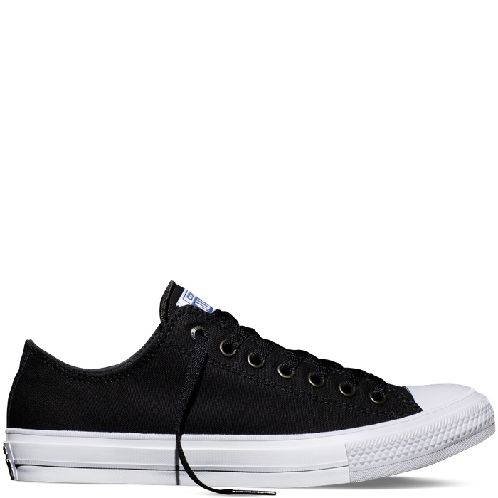 Converse Chuck II Low Top in Black available for $70.00