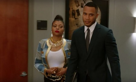 Taraji P Henson wears Moschino jacket as Cookie Lyon in Empire