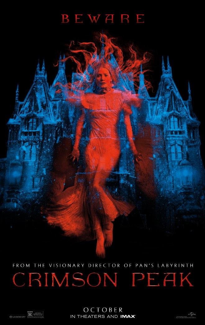 Crimson Peak movie poster