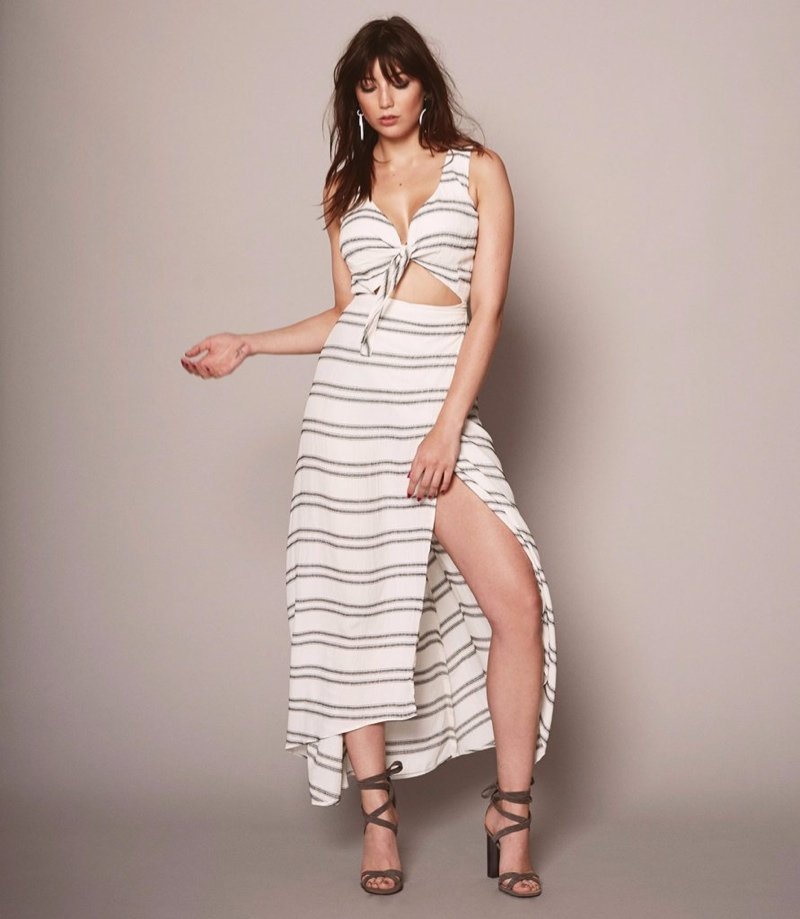 Daisy Lowe Models Reformation's 'I'm Up Here' Collection for Busty Women