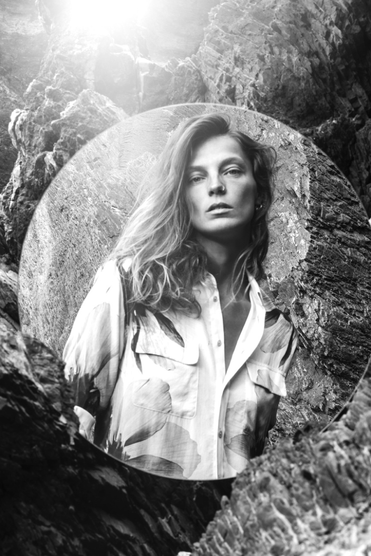 Daria Werbowy stars in Equipment's fall 2015 campaign
