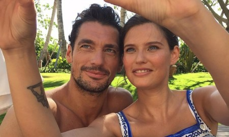Bianca Balti reunites with Dolce & Gabbana Light Blue co-star in Miami
