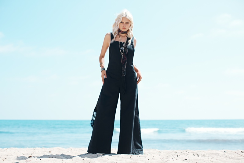 Dalilah Parillo Sports Late Summer Fashion for Free People