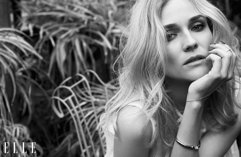 Diane Kruger Gets Sultry for ELLE Canada's Virtual-Reality Cover Story