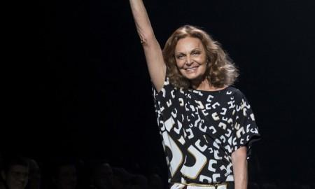 Designer Diane Von Furstenberg. Photo: Ovidiu Hrubaru / Shutterstock.com
