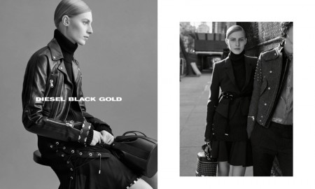 Diesel Black Gold Fall 2015 Campaign with Julia Nobis