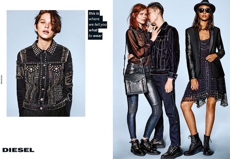 Diesel Gets Meta for Fall 2015 Campaign