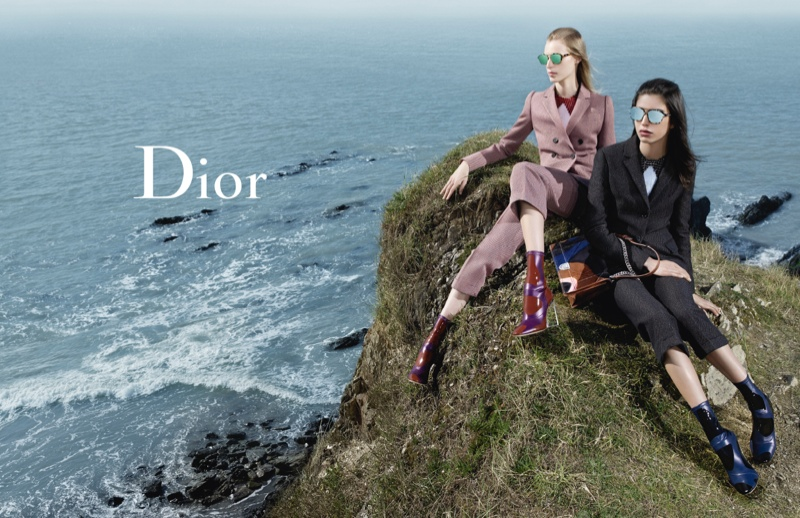 Dior Goes Seaside for Fall 2015 Ads