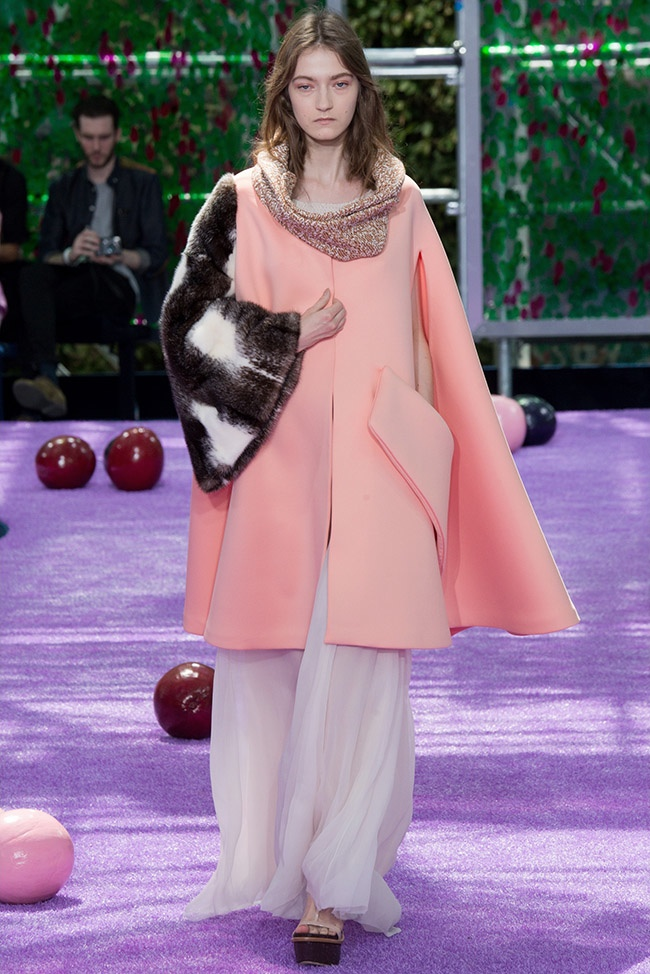 Dior Fall 2015 Couture: Garden of Delights