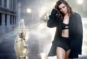 Andreea Diaconu Seduces in Donna Karan Cashmere Mist Ad