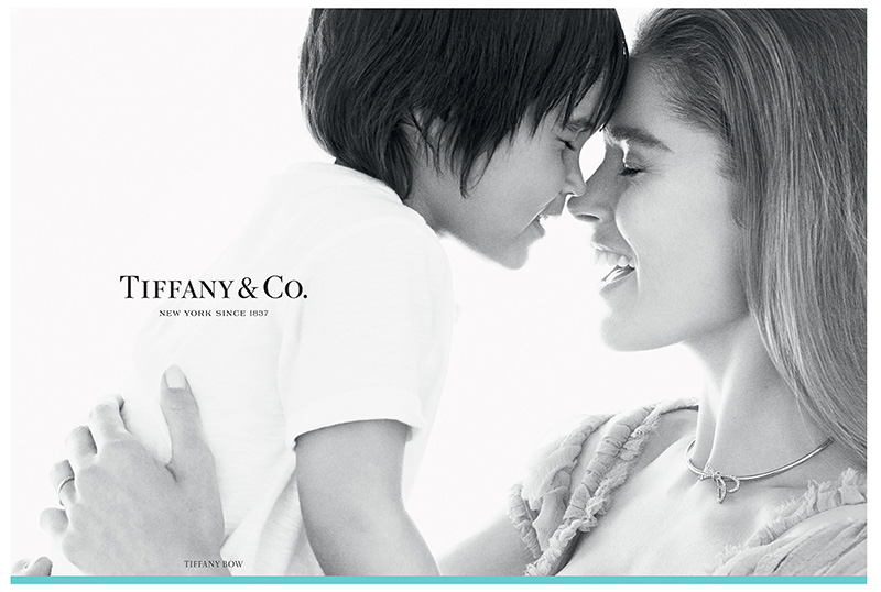 Doutzen Kroes & Phyllon in Tiffany & Co. Fall 2015 Campaign